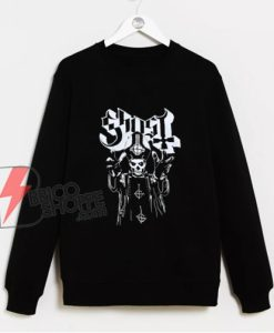 Papa Ghost Emeritus Sweatshirt - Funny Sweatshirt On Sale