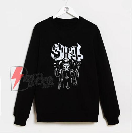 Papa Ghost Emeritus Sweatshirt - Funny Sweatshirt On Sale