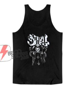 Papa Ghost Emeritus Tank Top – Funny Tank Top On Sale