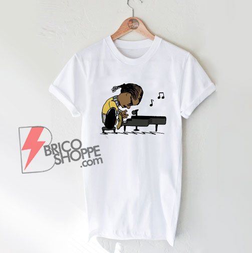 Post Malone playing piano Shirt – Funny Shirt