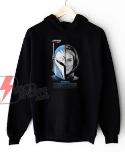 Star Wars The Mandalorian Bo-Katan Hoodie - Star Wars Hoodie - Funny Hoodie On Sale