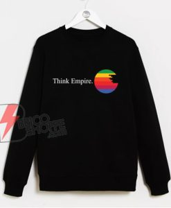 THINK EMPIRE Sweatshirt – Star Wars Sweatshirt Hoodie – Funny Sweatshirt On Sale