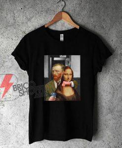 Van-Gogh-Mona-Lisa-Shirt