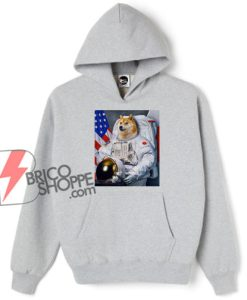 Dogecoin Astronaut To the Moon Hoodie - Funny Hoodie