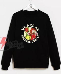 Marvel WandaVision We Are An Unusual Couple Sweatshirt - Funny Sweatshirt