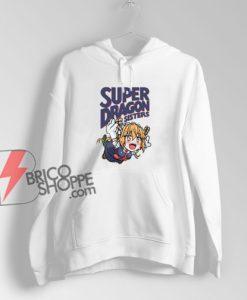 Super Dragon Sisters Hoodie - Parody Hoodie