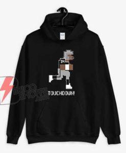 Tecmo Bowl Bo Jackson Touchdown Raiders NES Retro Hoodie