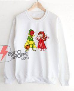 WandaVision Scarlet Witch And Vision Sweatshirt
