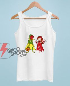WandaVision Scarlet Witch And Vision Tank Top