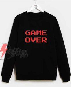 8bit-GAME-OVER-Sweatshirt