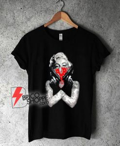 Marilyn-Monroe-Bandana-T-Shirt---Funny-Shirt