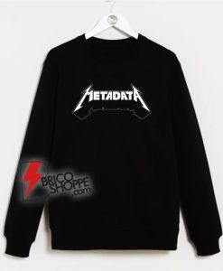 Metadata-Sweatshirt