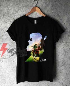 Zelda-Link-Epona-Ride-Silhouette-Shirt