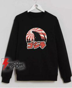 Godzilla-Retro-Sweatshirt