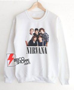 ONE DIRECTION NIRVANA Sweatshirt - Funny Sweatshirt