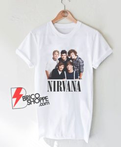 ONE DIRECTION NIRVANA T-Shirt - Funny Shirt