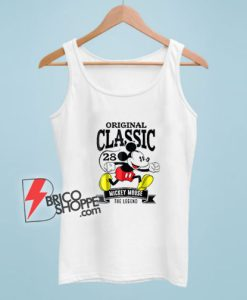 Original Classic Mickey Mouse 1928 Tank Top – Mickey Mouse The Legend Tank Top