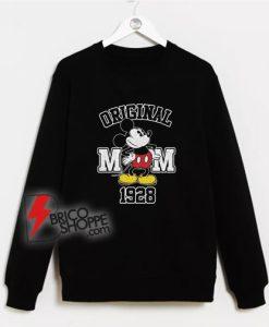 Original Mickey Mouse 1928 Sweatshirt - Vintage Mickey Mouse Sweatshirt
