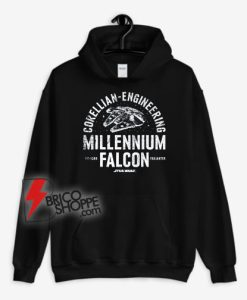Star Wars Millennium Falcon Corellian Engineering Hoodie