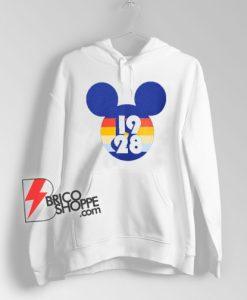 Vintage Mickey Mouse 1928 Hoodie