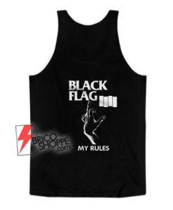 black-flag-my-rules-Tank-Top