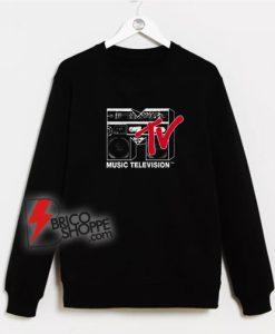 Mtv Logo Boombox Sweatshirt