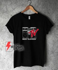 Mtv Logo Boombox T-Shirt