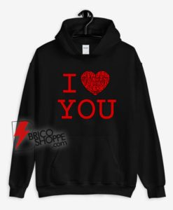I Love Really Just Want To Have Sex With You Hoodie