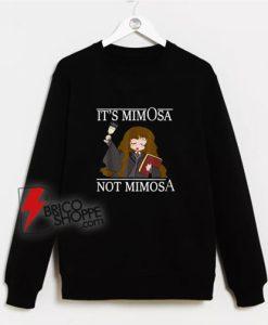 Its Mimosa Cartoon Sweatshirt
