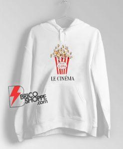 le cinema popcorn Hoodie