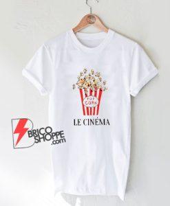 Le cinema Popcorn T-Shirt