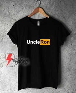 Logo-Uncle-Ron-Graphic-Shirt---Funny-Shirt