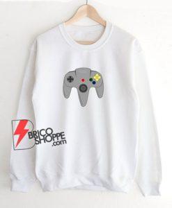 N64 controller Sweatshirt