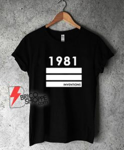 1981-Inventions-T-Shirt---Funny-Shirt
