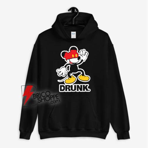 Disney Mickey Mouse Drunk Hoodie