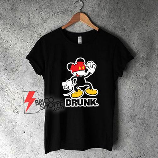 Disney Mickey Mouse Drunk T-Shirt