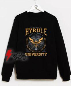 Legend-of-Zelda-Breath-of-the-Wild-Property-of-Hyrule-University-Sweatshirt