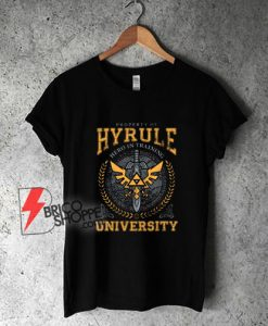 Legend-of-Zelda-Breath-of-the-Wild-Property-of-Hyrule-University-T-Shirt