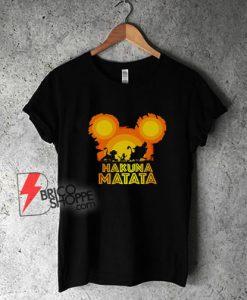 Lion King shirt - Disney Hakuna Shirt