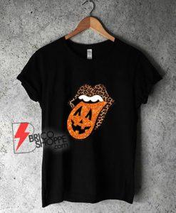 Leopard-Lips-Halloween-T-Shirt